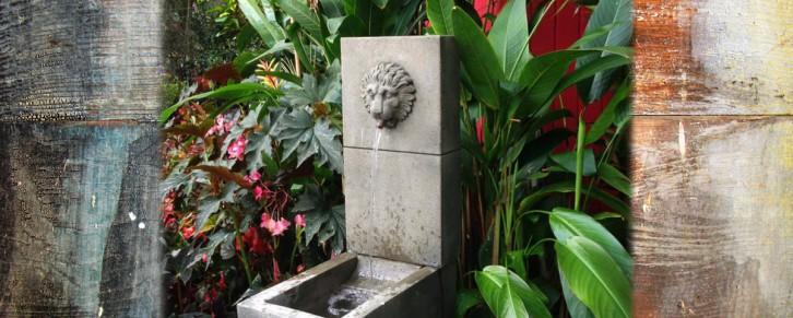 Come Stroll Our Gardens. Fountain1